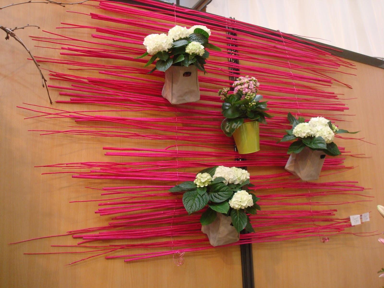 Fleuriste isabelle feuvrier structures d coratives murales - Toiles decoratives murales ...