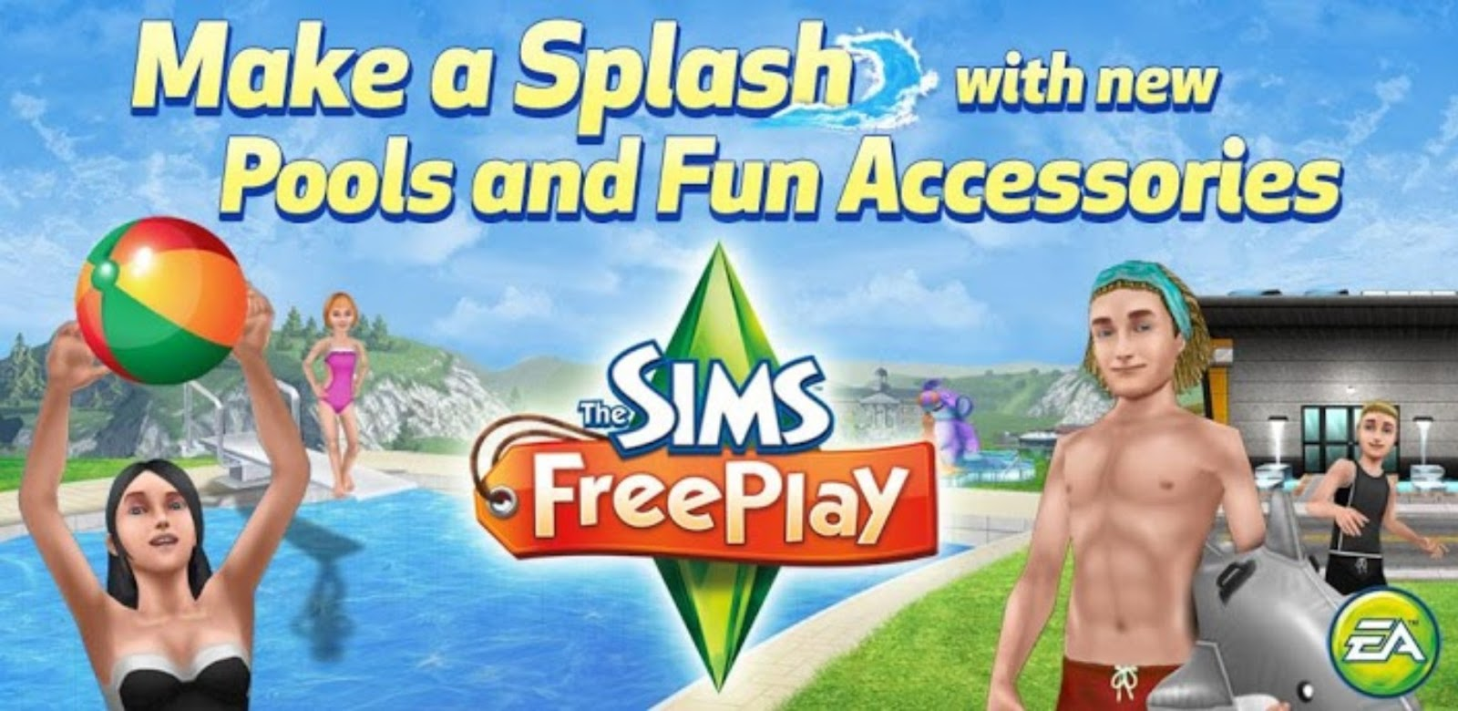 how to download sims free play on android