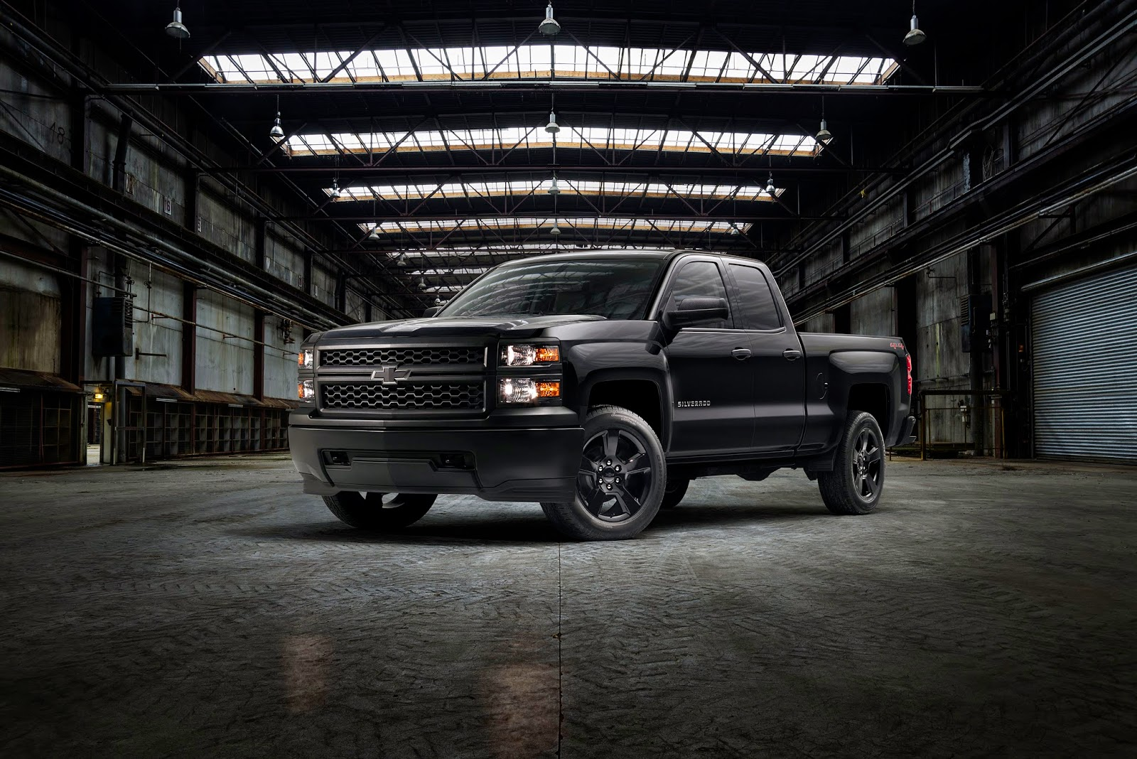 New 2015 Chevy Silverado Black Out Package For Work Trucks
