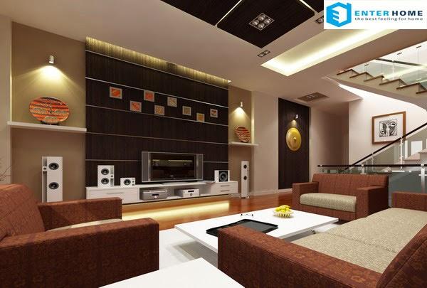 Thiết kế nội thất phòng khách quá đẹp