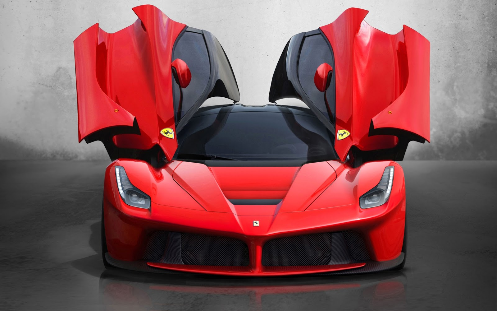 The Hybrid Car Is The First Ferrari With The Hy Kers Hybrid Technology.  Attached To A 6.2 Liter V12 Engine With 800 Hp Is An Electric Motor With  163 Hp, ...