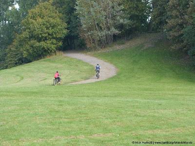 Fahrrad fahren in Hamburg