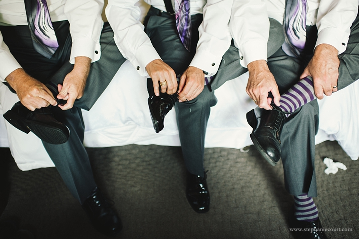 """wedding day groom's prep"""