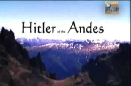 Hitler en los Andes
