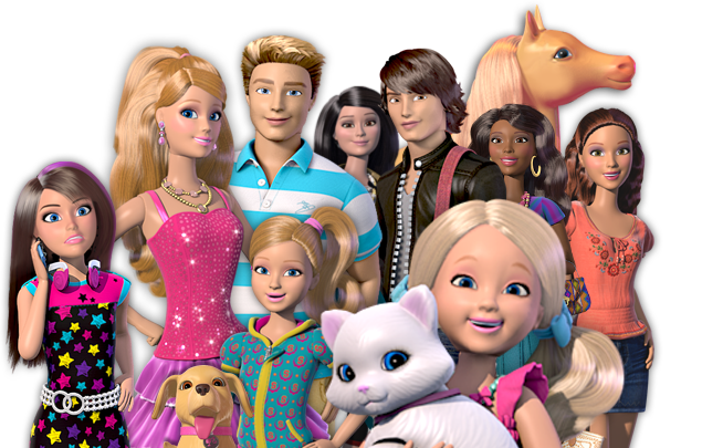 Universo rosa barbie barbie life in the dreamhouse