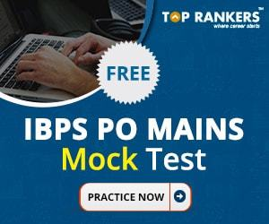 Free IBPS PO Mains Mock