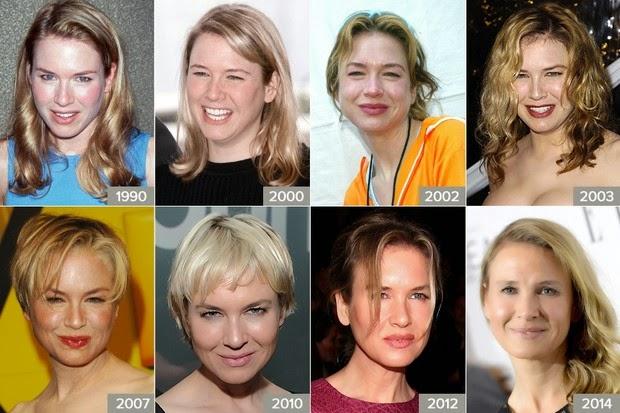 À publicação, a atriz atribuiu as mudanças em seu rosto a uma vida mais saudável e ao fato de estar mais feliz do que nunca
