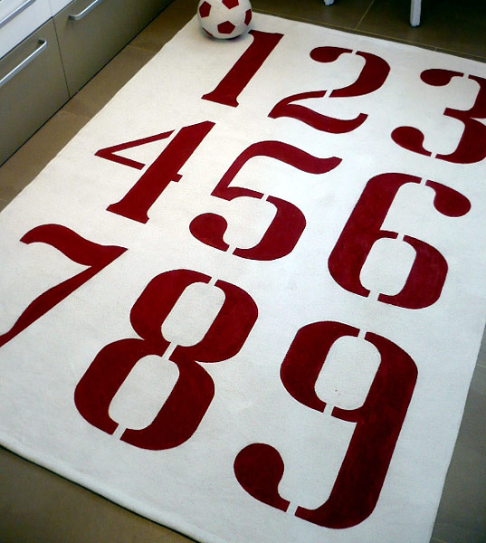 Modern DIY: A Rug for my office----to paint a rug or not to paint?