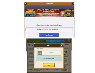Code Coupon Opening Zombie Map Gratis Bonus 1000 Diamond Get Rich cover