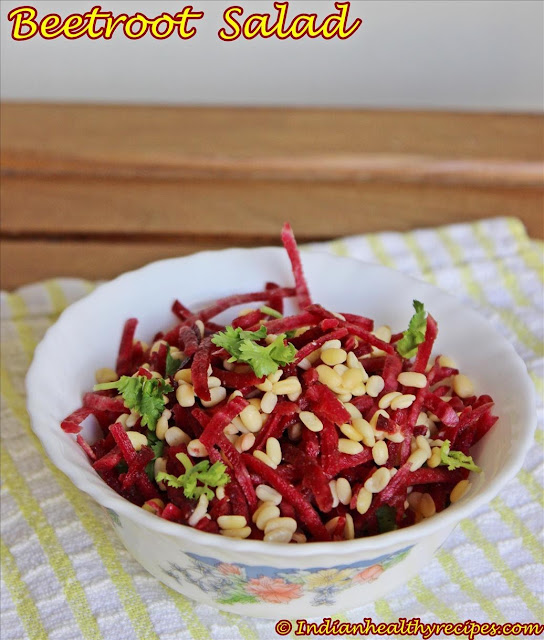 Beetroot salad – Beetroot Kosambari