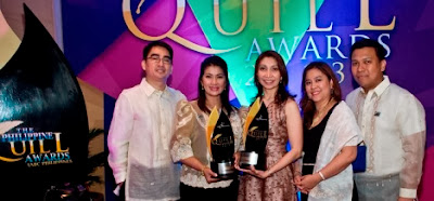 DZMM team, led by special projects head May Ceniza and station manager Marah Capuyan, receives Quill award for its 11th DZMM Buntis Congress