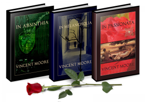 Poetry books in print by Vincent Moore