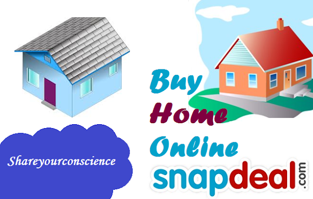 Snapdeal Selling House over Internet