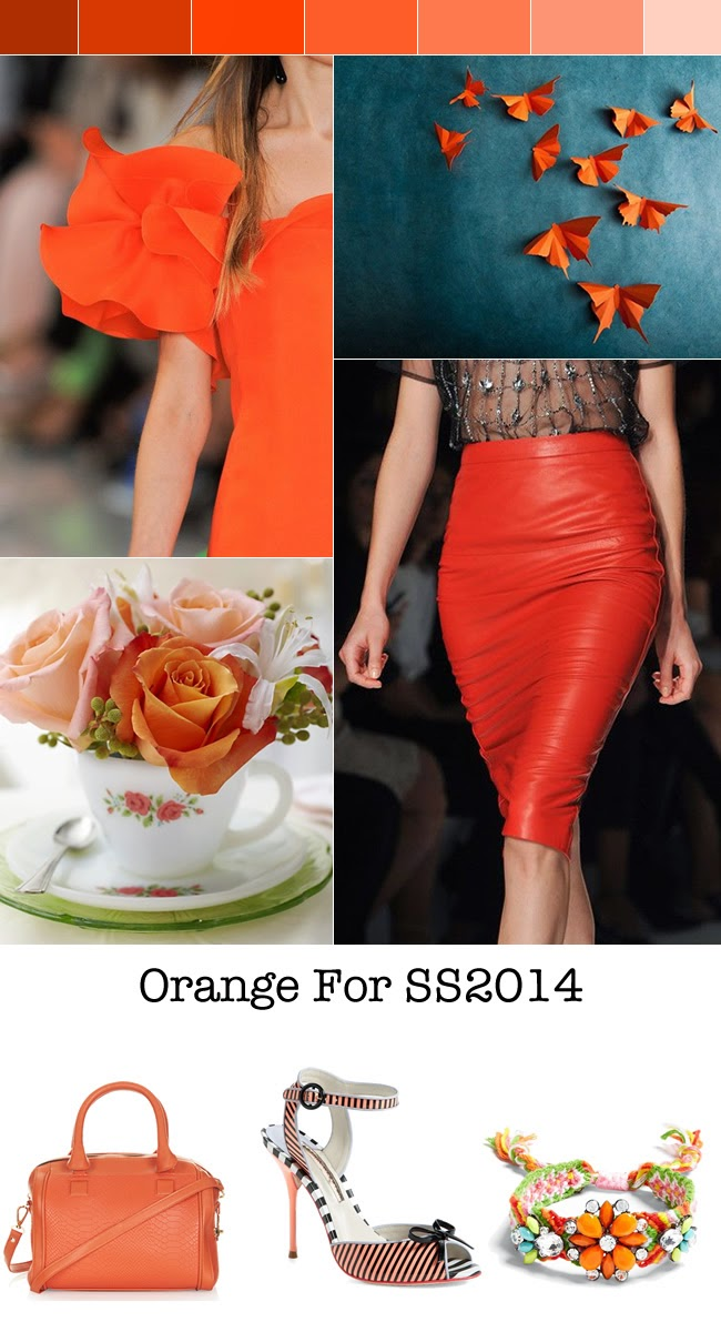 orange fashion trend