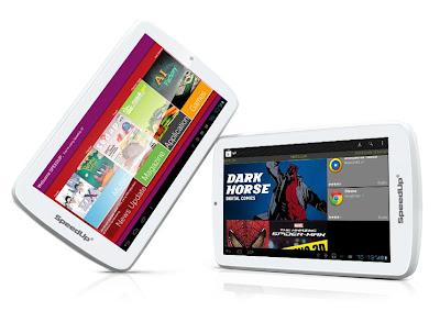SpeedUp Pad Pro 2 - Harga Spesifikasi Tablet Android Dual Core Bisa Telepon SMS - Berita Handphone