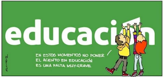 el acento en la educación