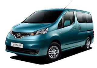 Daftar Harga Mobil Nissan EVALIA 2015