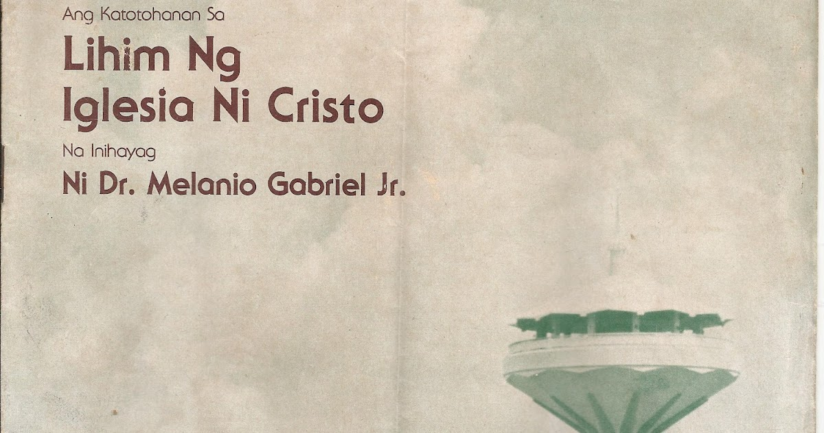 Iglesia ni cristo dating rules