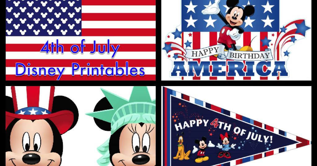 My Disney Life 4th Of July Printable Roundup