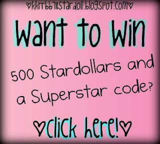 Win 500 Stardollars!