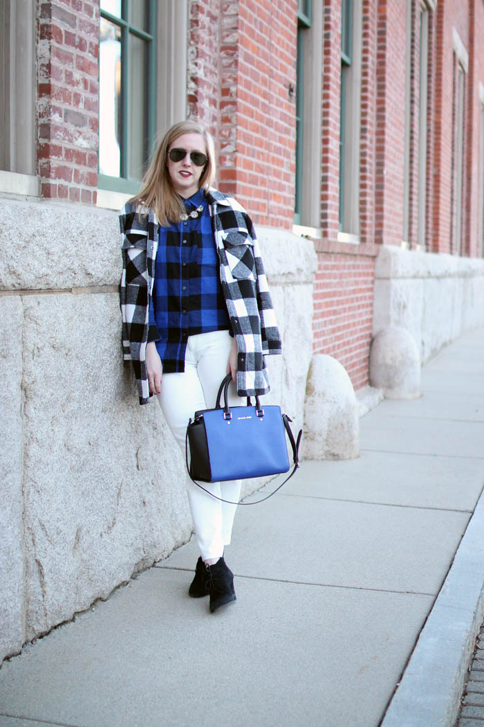 buffalo plaid mix up, buffalo plaid outfits, outfits with buffalo plaid, boston blogger, boston fashion blogger, buffalo plaid coat,