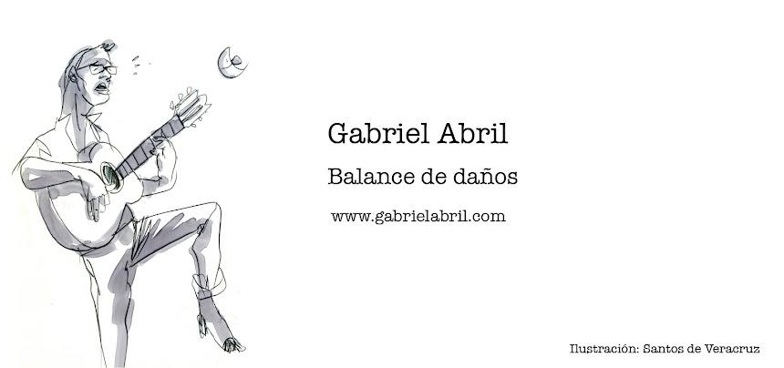 Gabriel Abril - Balance De Daños