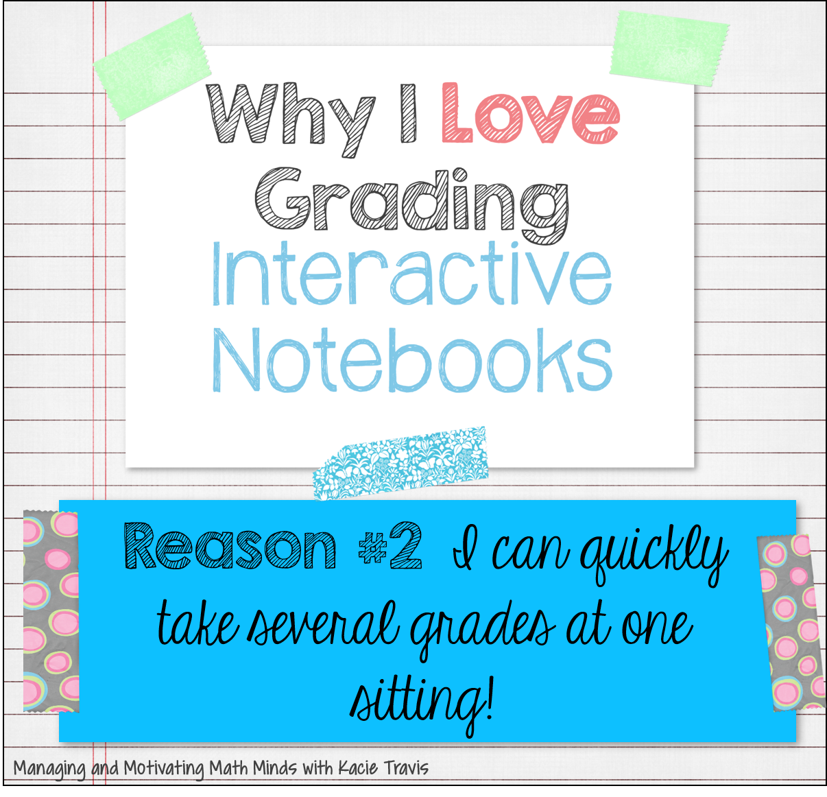 Why I Love Grading Interactive Notebooks