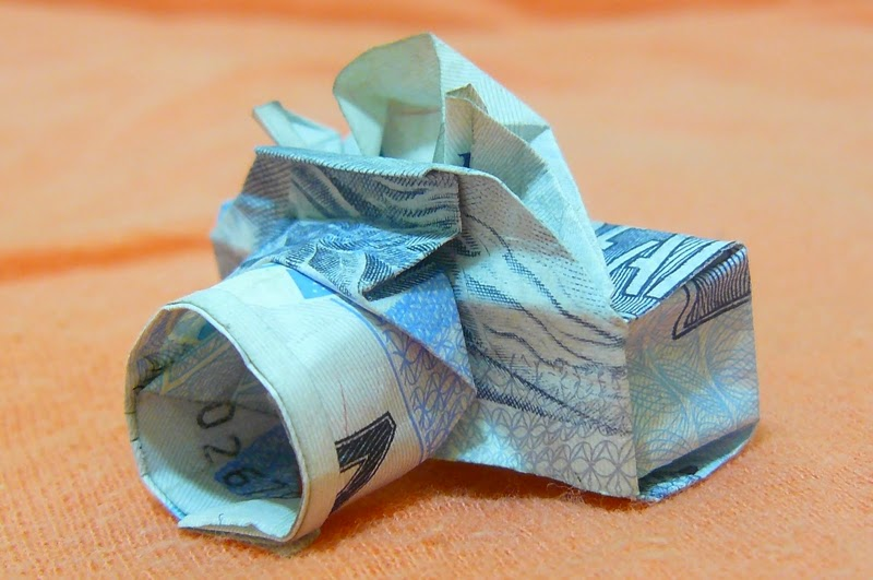Fotografias e dinheiro