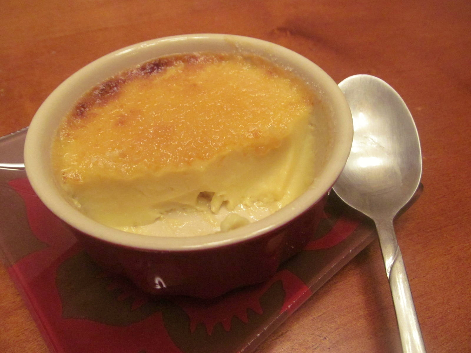 A Crafty Cook: White Chocolate Creme Brulee