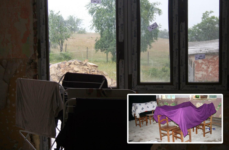 Rain causing creative drying methods