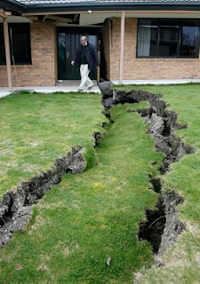 Quake after effects in Kaiapoi