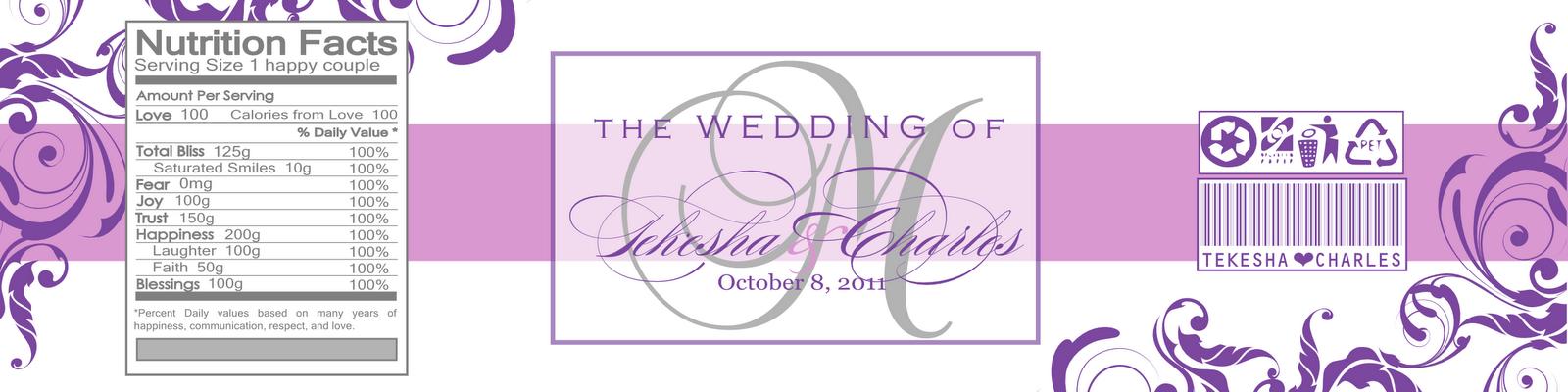 Signatures By Sarah: Wedding Stationery For Tekesha