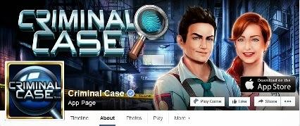 Criminal case fans page