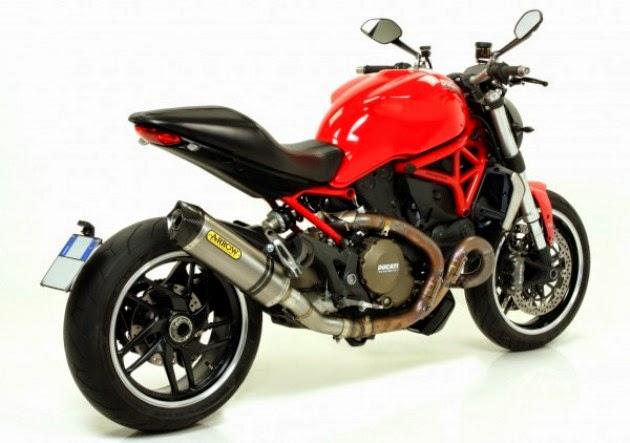 Arrow Muffler for Ducati Monster 1200