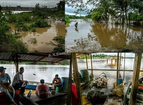 Banjir Besar di Temerloh 1971 VS 2014