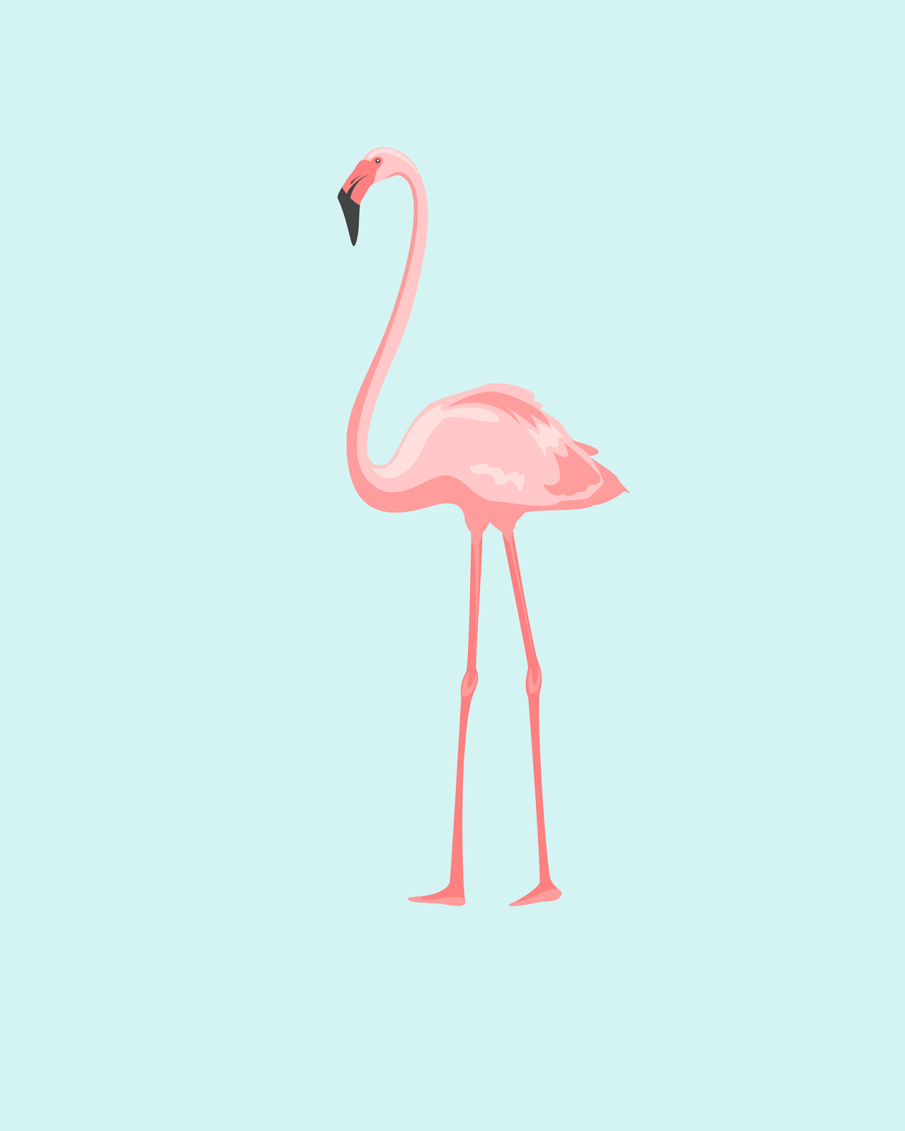 picture relating to Flamingo Printable named No cost flamingo printables lovely, exciting, and cheerful!