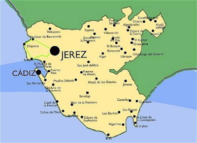 mapa de cádiz
