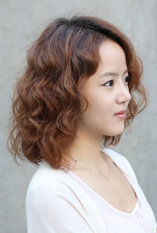 HD wallpapers korean short hair curl