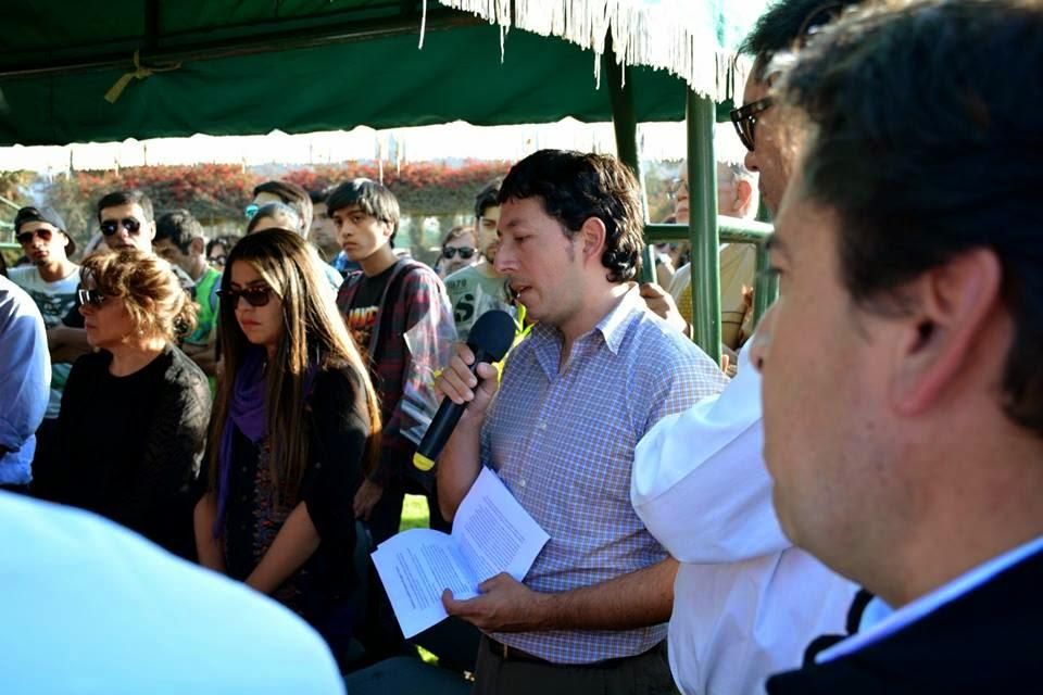 Palabras de presidente Consejo Regional Atacama durante funeral Leonidas Francisco Droguett Guerra
