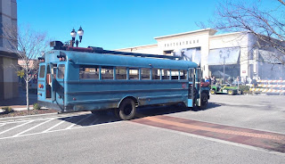 Revolution Steam Bus
