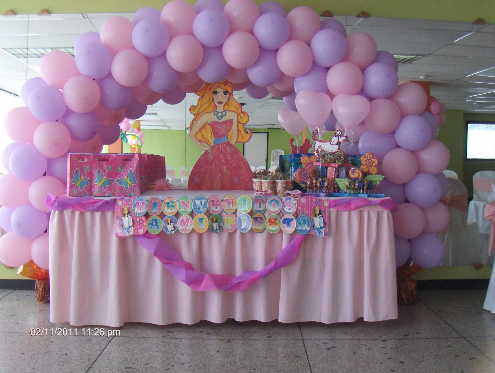 Globos helium fiestas infantiles for Fotos de decoraciones