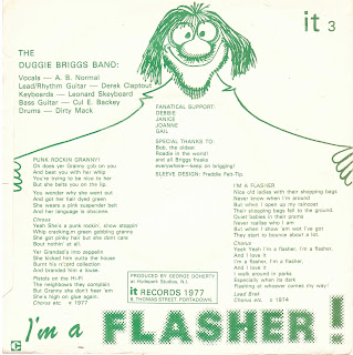 The Duggie Briggs Band Punk Rockin Granny