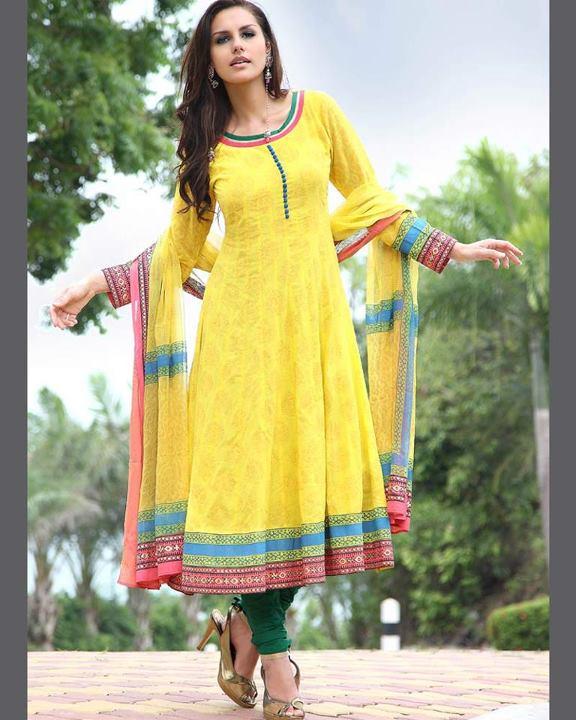 Anarkali designer salwar kameez   Affordable salwar kameezDesigner Salwar Kameez Anarkali Style