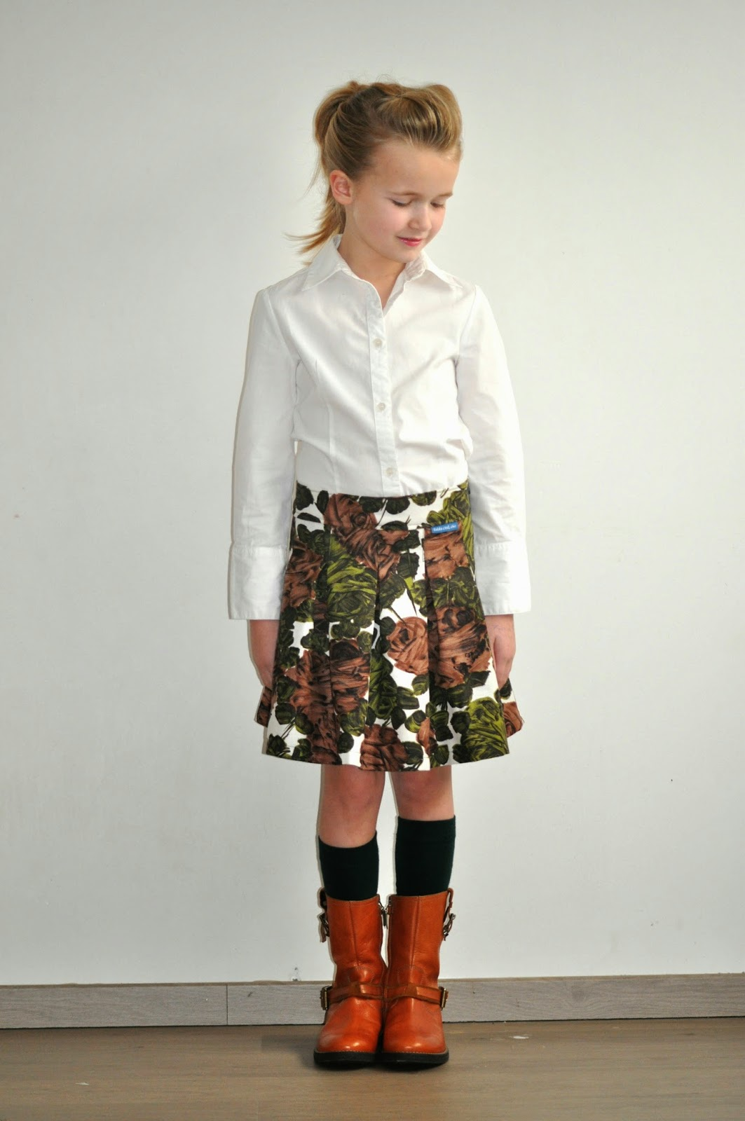 stof voor durf het zelvers SVSHZ naaien sewing kindermode DIY kinderkleding