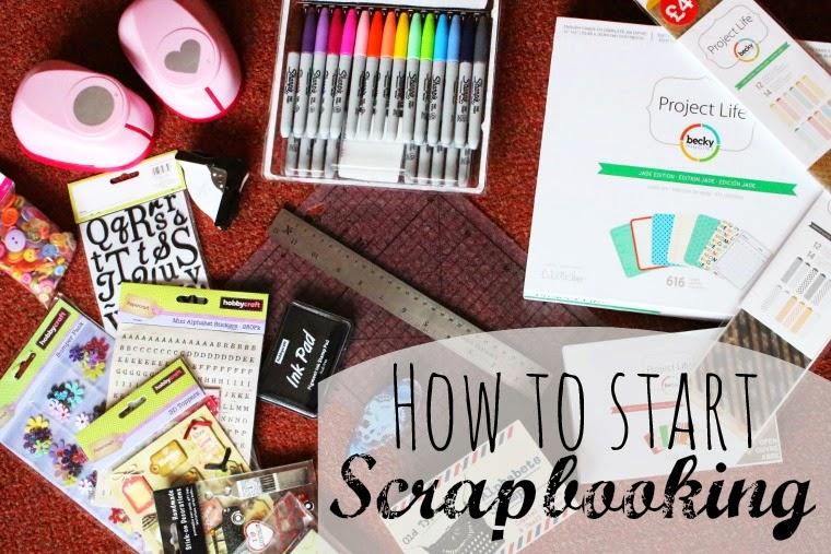 Gemzicle Sprinkles How To Start Scrapbooking