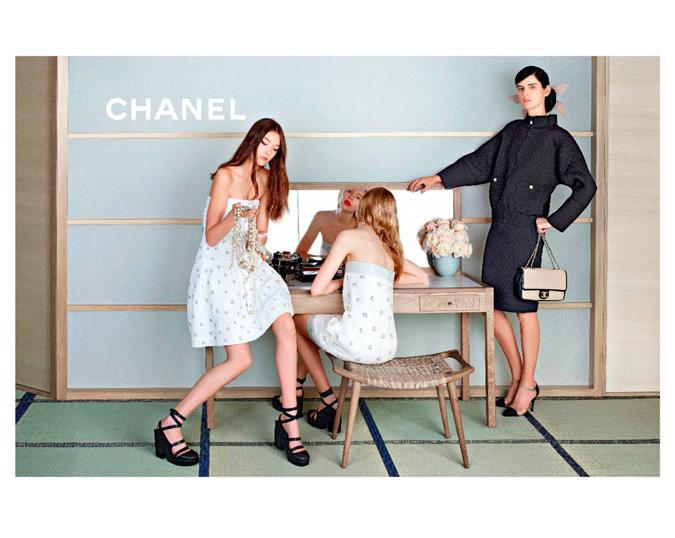Chanel primavera-verano 2013