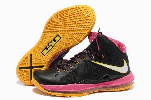 Nike Air Max Lebron James XI Yellow Basketball Shoes