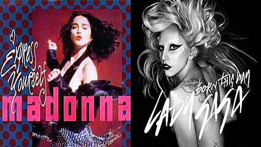 The Facemash Post - Heboh Video Musik Mash-Up Lady Gaga vs. Madonna - Born This Way vs. Express Yourselfv - bukti lady gaga mencuri lagu madonna