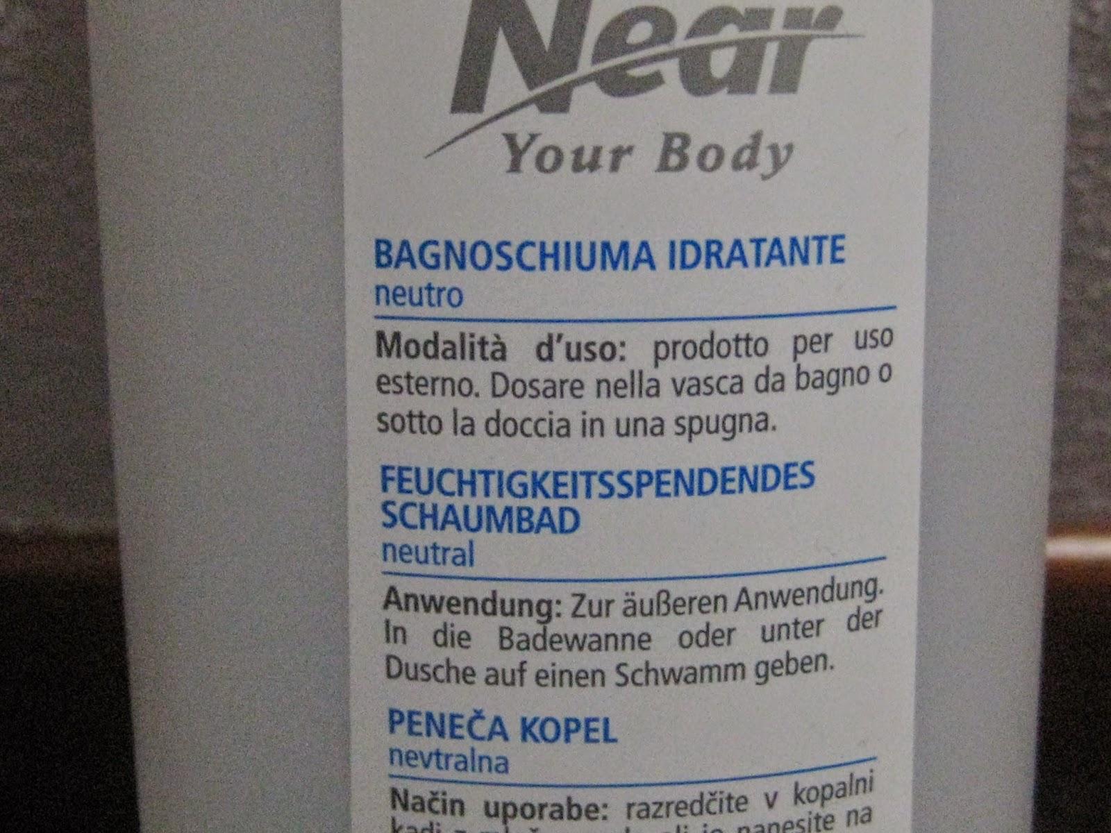 Bagno Doccia Neutro : Lunarossa recensione bagno schiuma neutro near