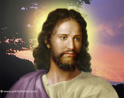 Jesus Face Painting Wallpaper